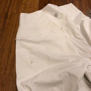 lululemon athletica Pants - White lululemon leggings